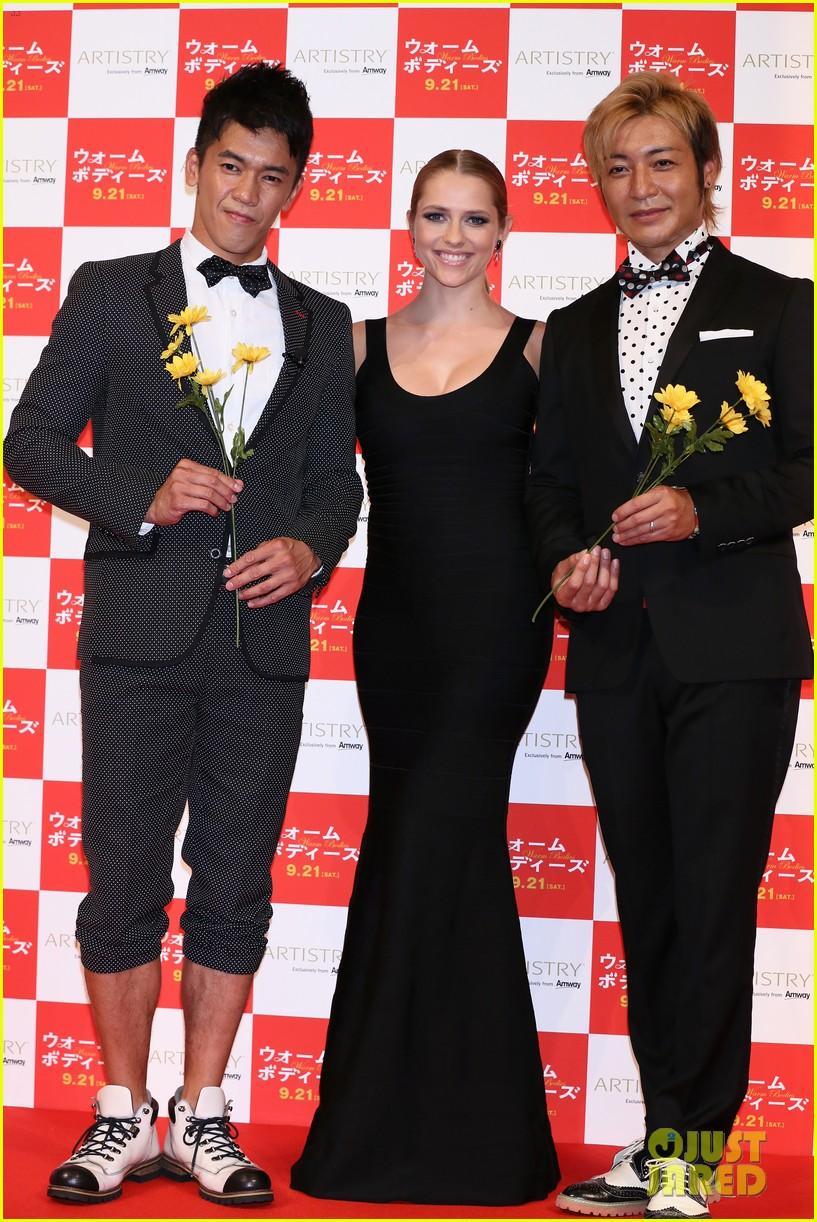 teresa palmer warm bodies japan premiere 04