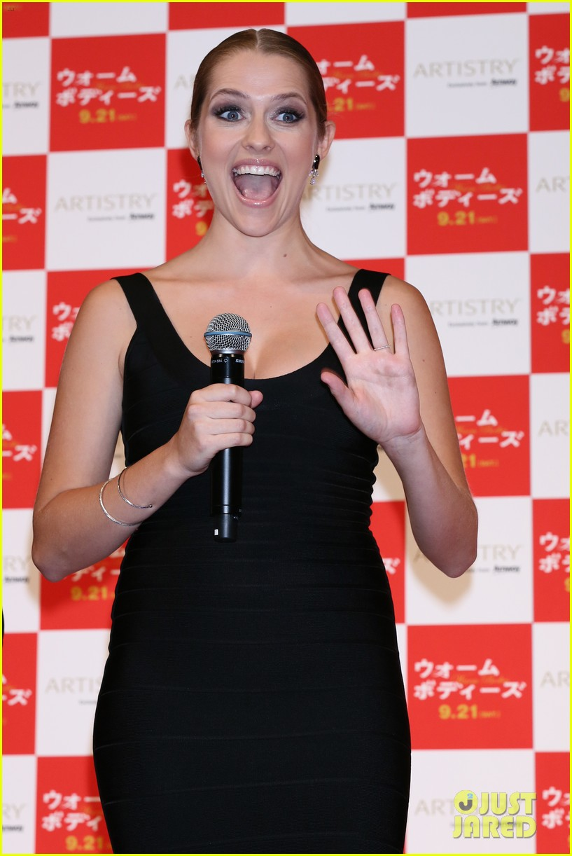 teresa palmer warm bodies japan premiere 082948120