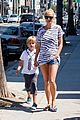 gwyneth paltrow chris martin spend sunday with moses 13