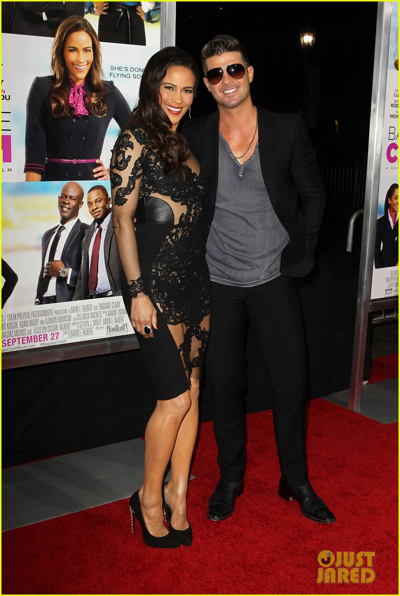 paula patton baggage claim premiere with robin thicke 132960172