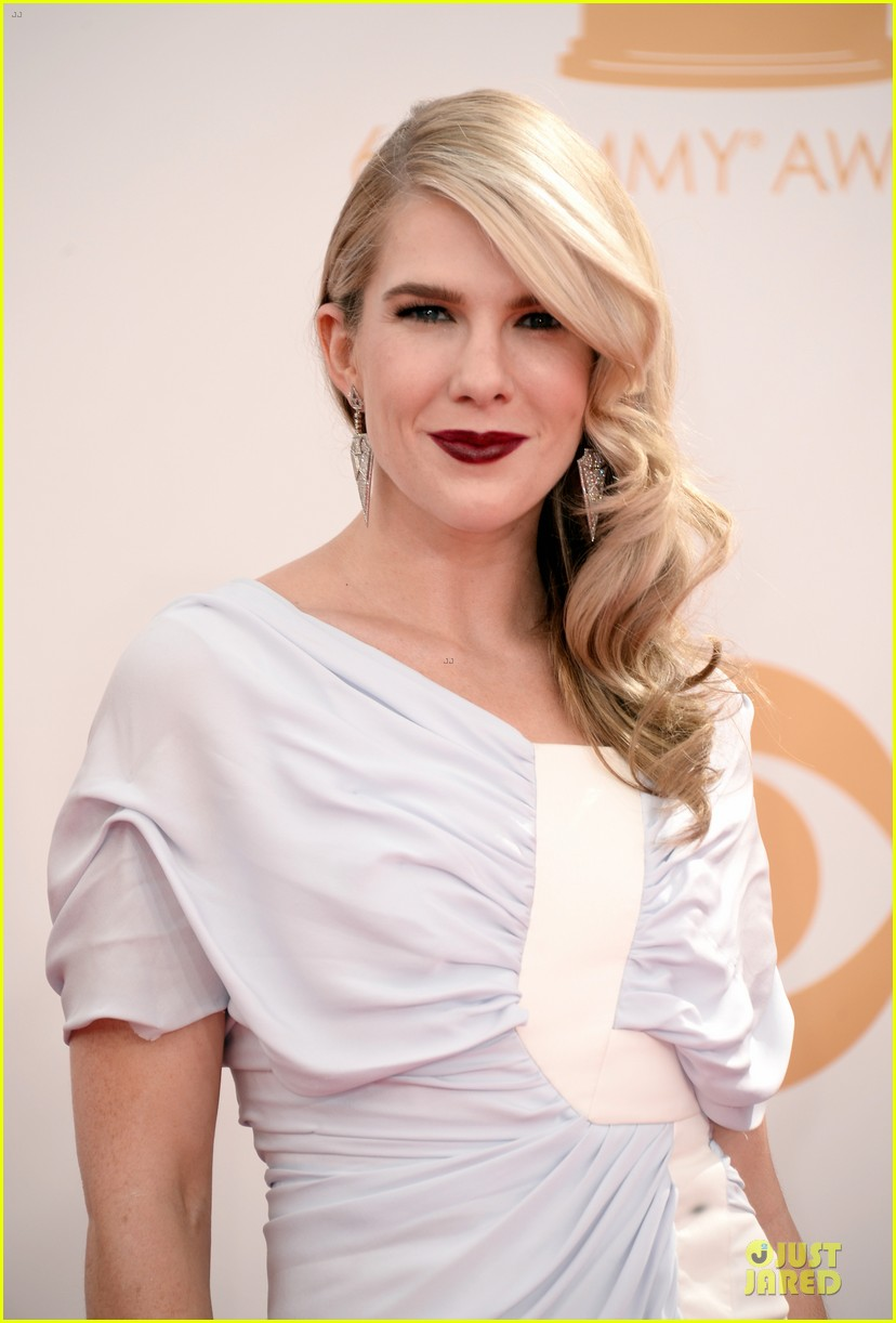 evan peters lily rabe emmys 2013 red carpet 042958022