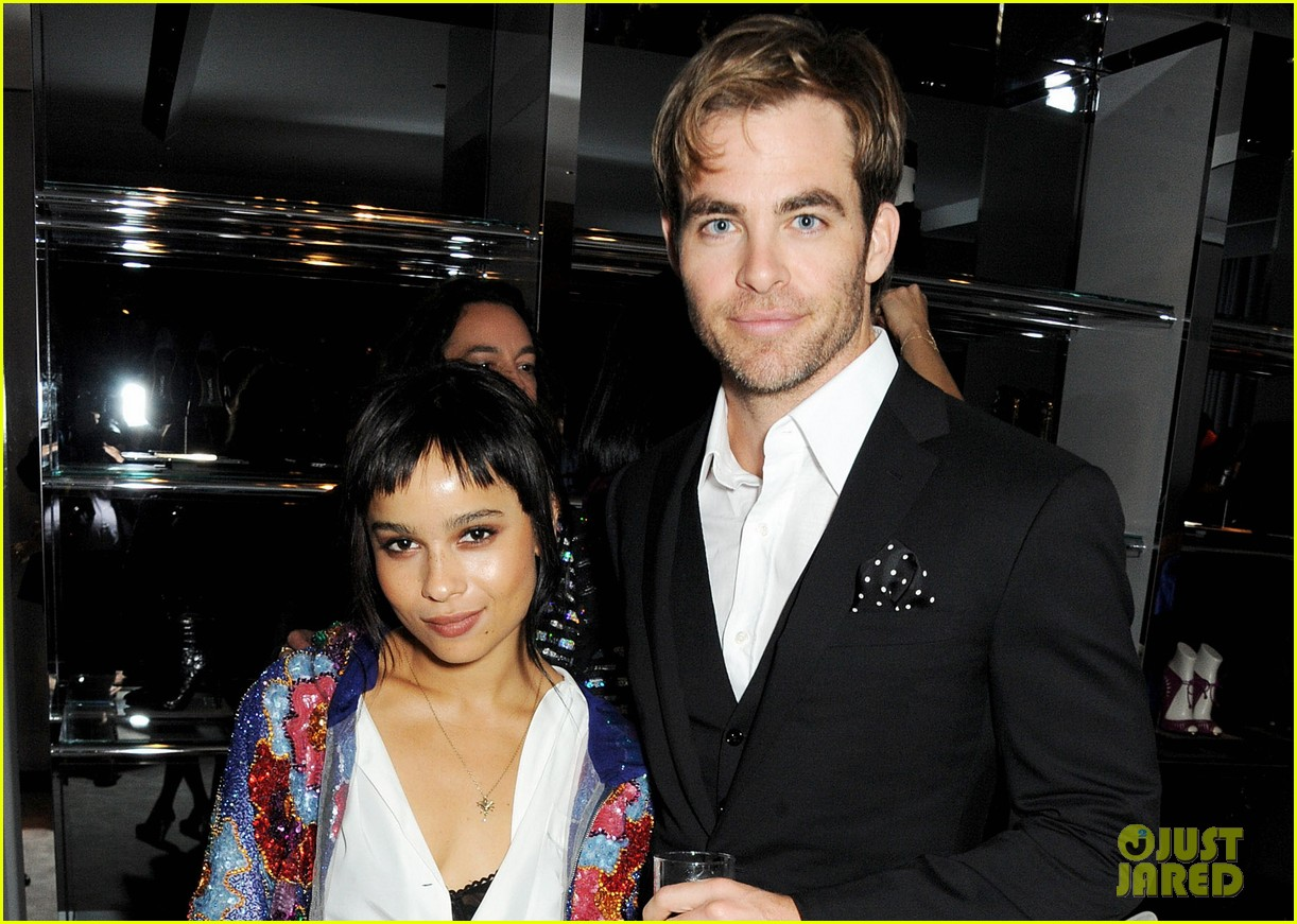 chris pine zoe kravitz london fashion week parties 042953085