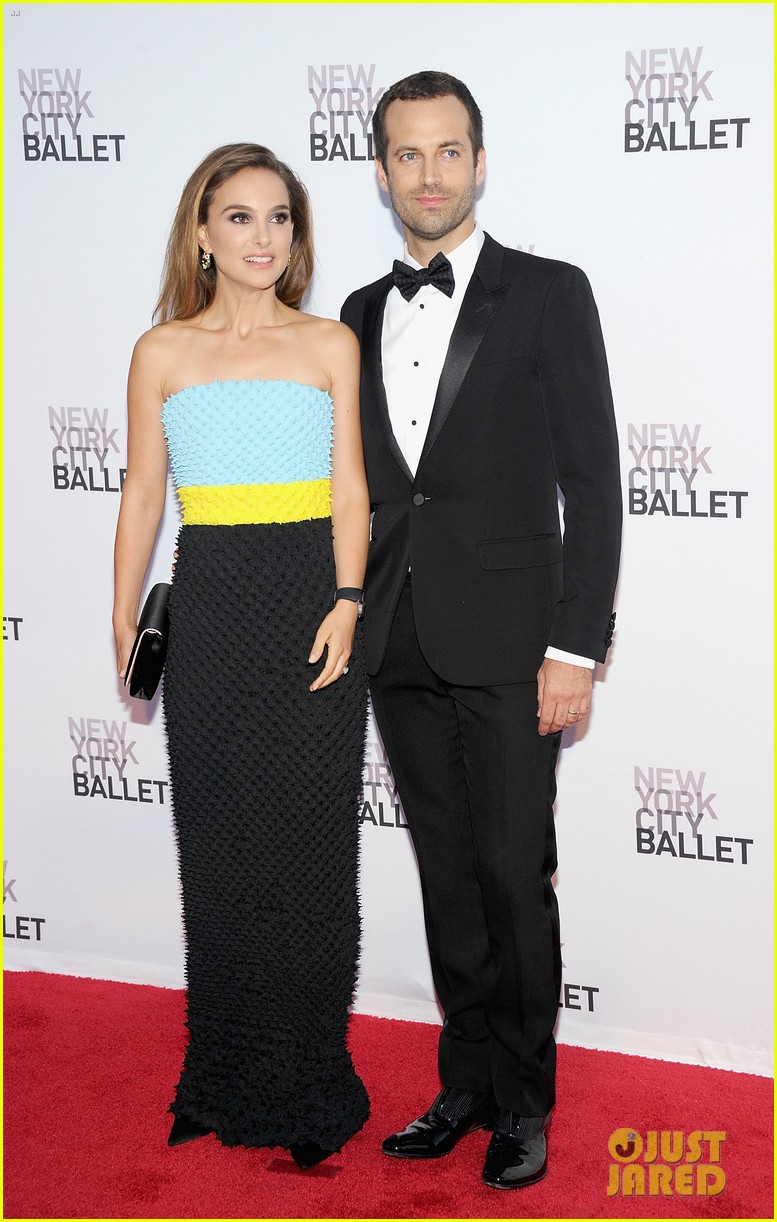 natalie portman nyc ballet gala with benjamin millepied 082955647