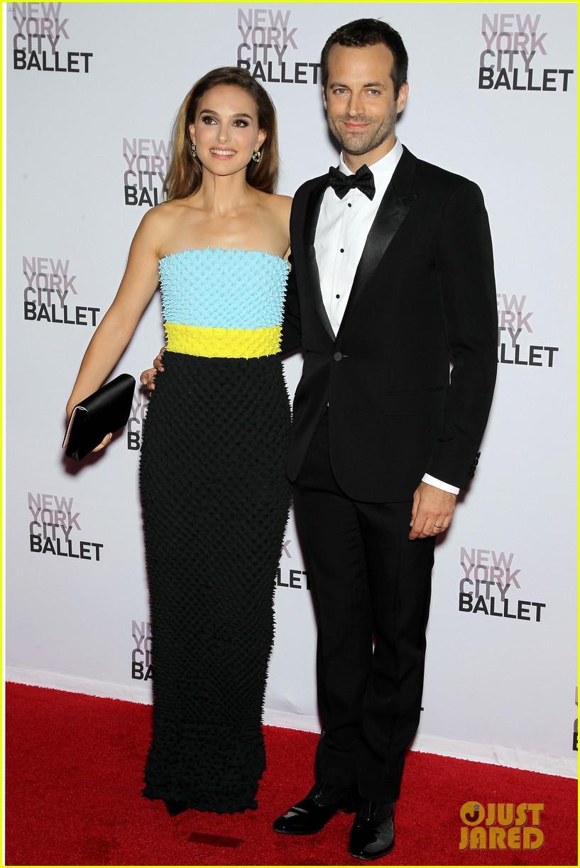 natalie portman nyc ballet gala with benjamin millepied 132955652