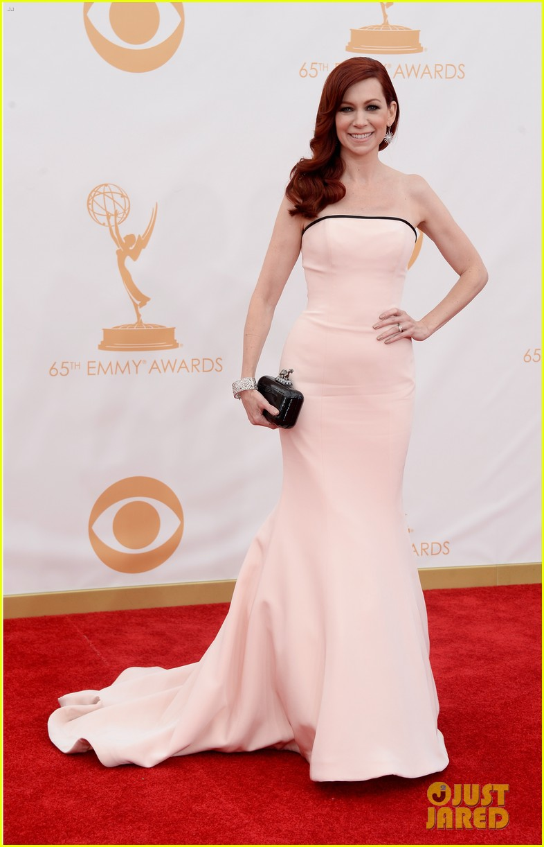 carrie preston linda cardellini emmys 2013 red carpet 06