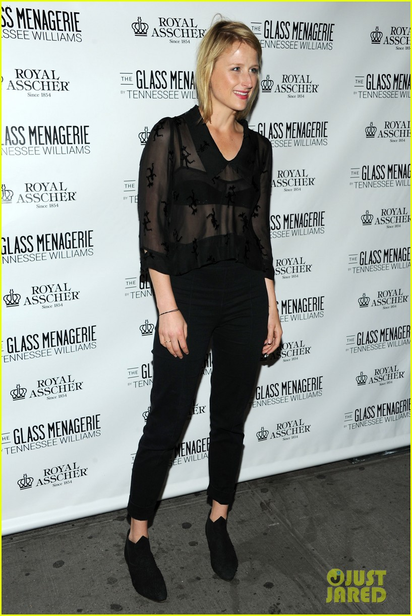 zachary quinto megan hilty glass menagerie opening night 102960905