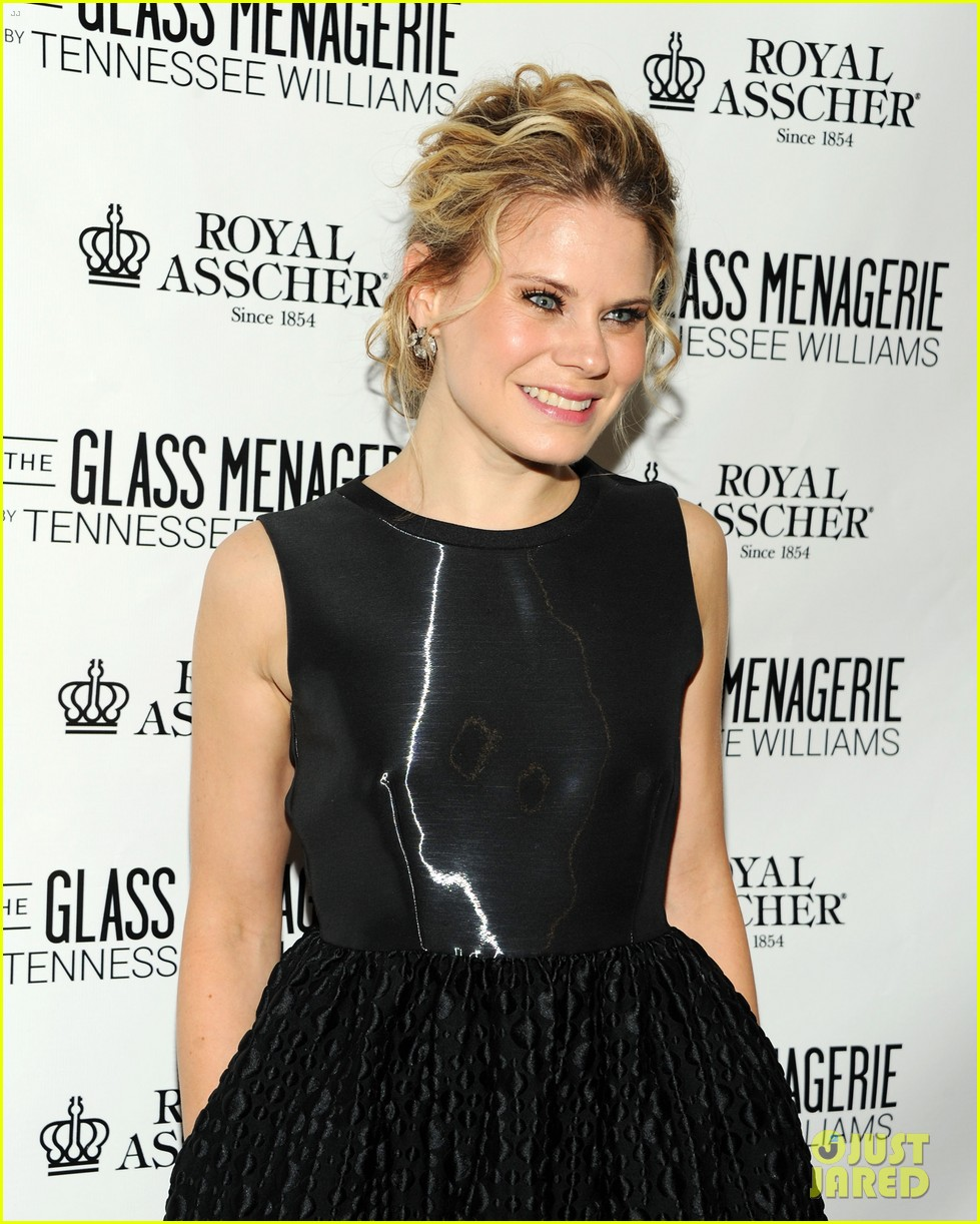 zachary quinto megan hilty glass menagerie opening night 232960918