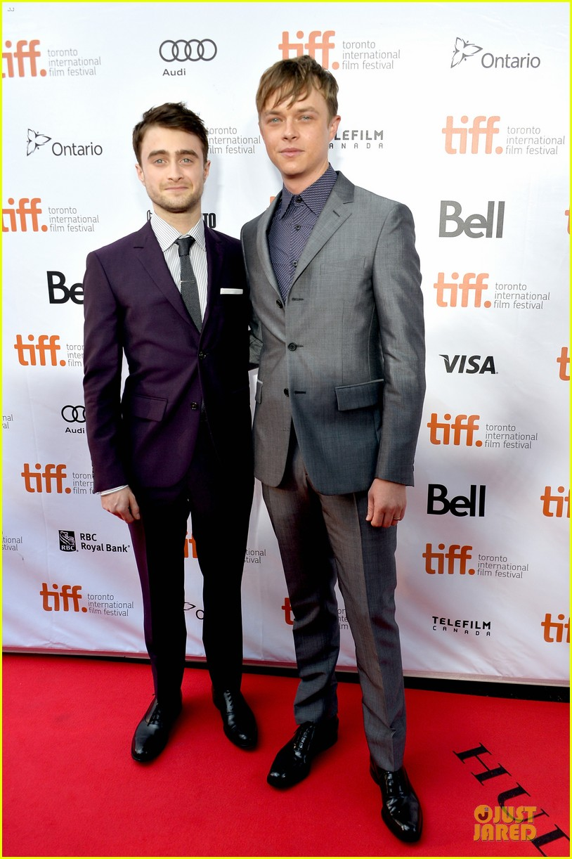 daniel radcliffe michael c hall kill your darlings tiff premiere 01
