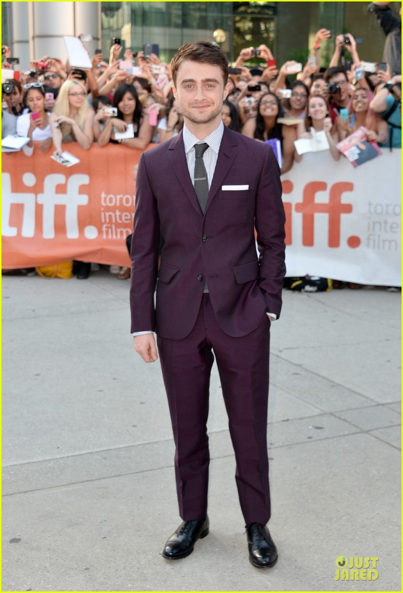 daniel radcliffe michael c hall kill your darlings tiff premiere 132949626