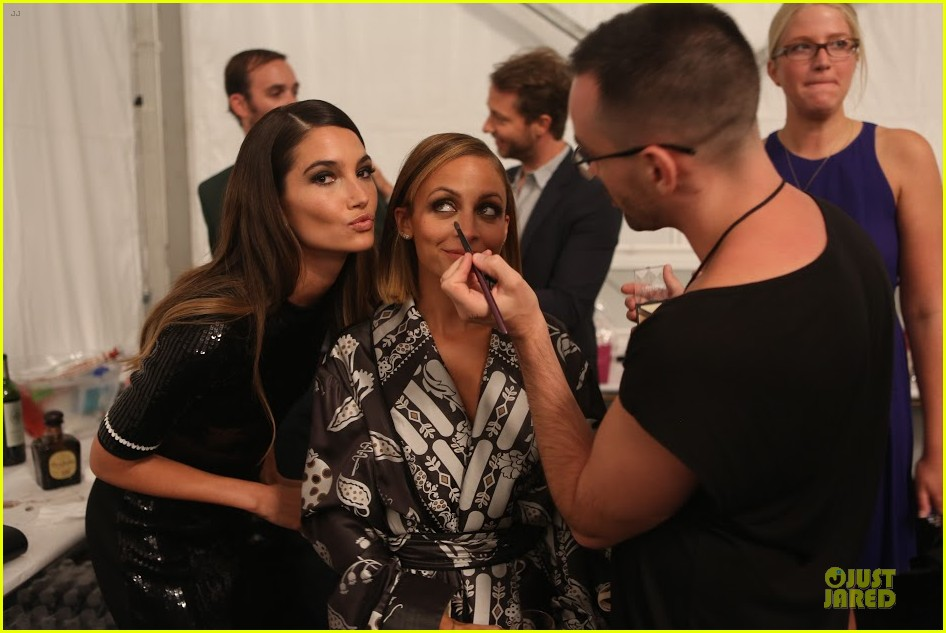 nicole richie style awards behind the scenes pics exclusive 04.2950975