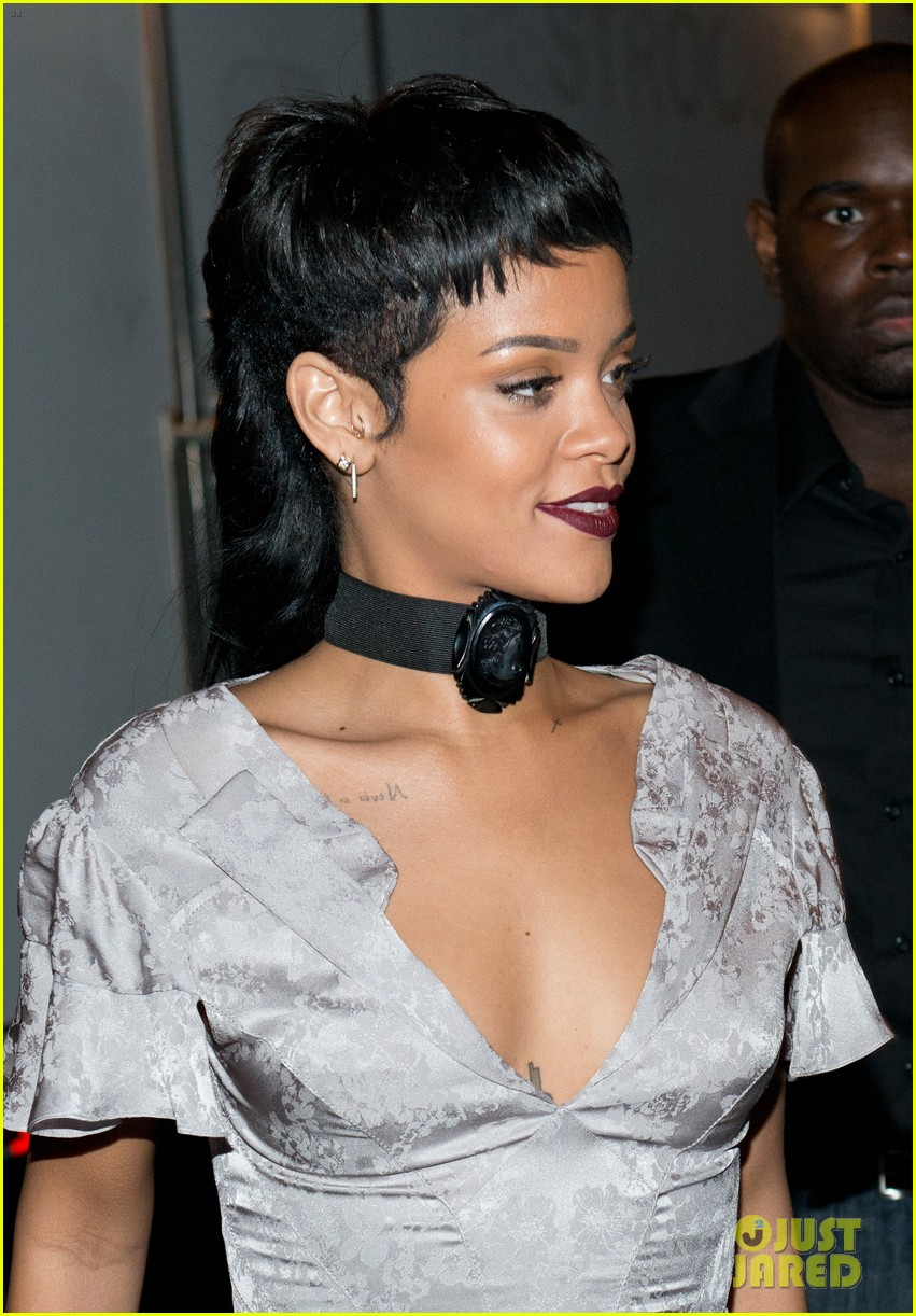 rihanna justin bieber opening ceremony nyfw after party 112947986