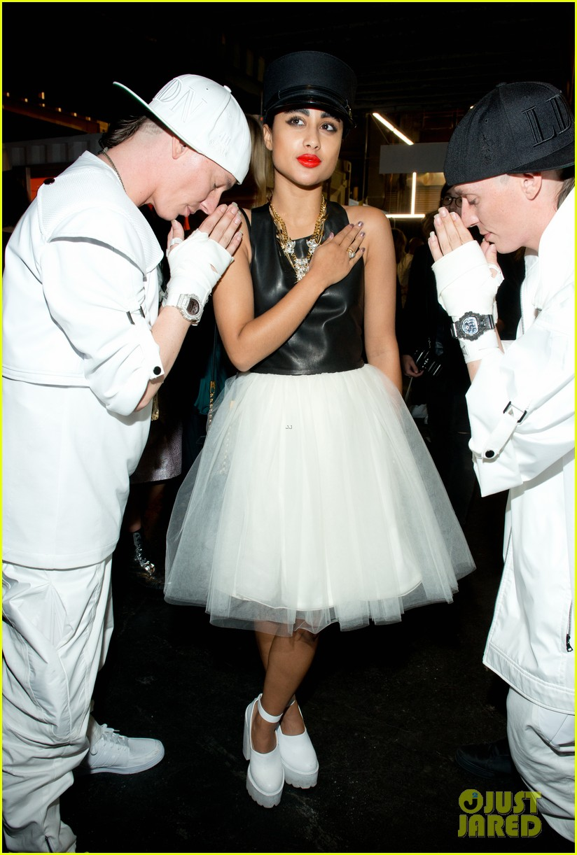rihanna justin bieber opening ceremony nyfw after party 142947989