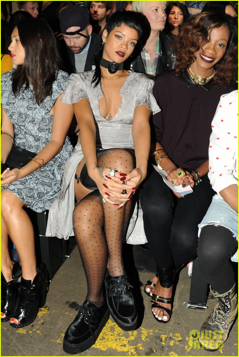 rihanna justin bieber opening ceremony nyfw after party 222947997