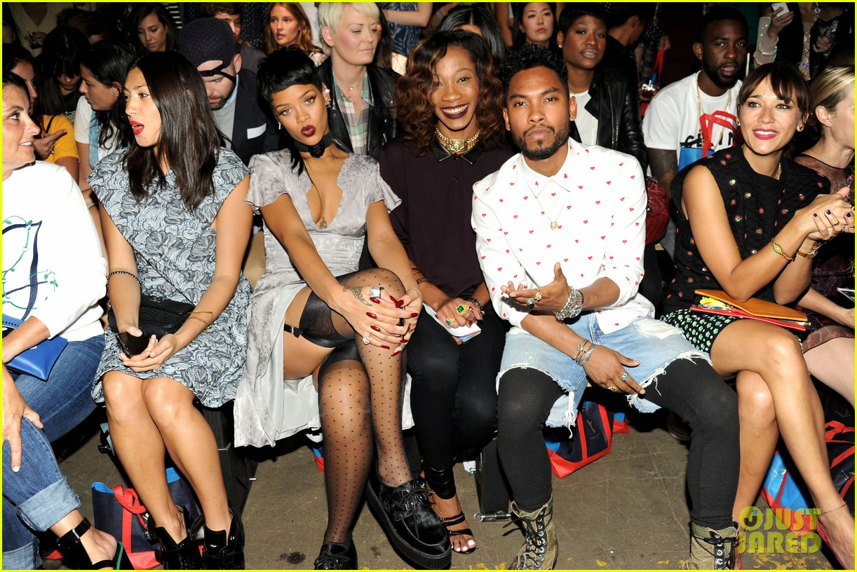rihanna justin bieber opening ceremony nyfw after party 232947998