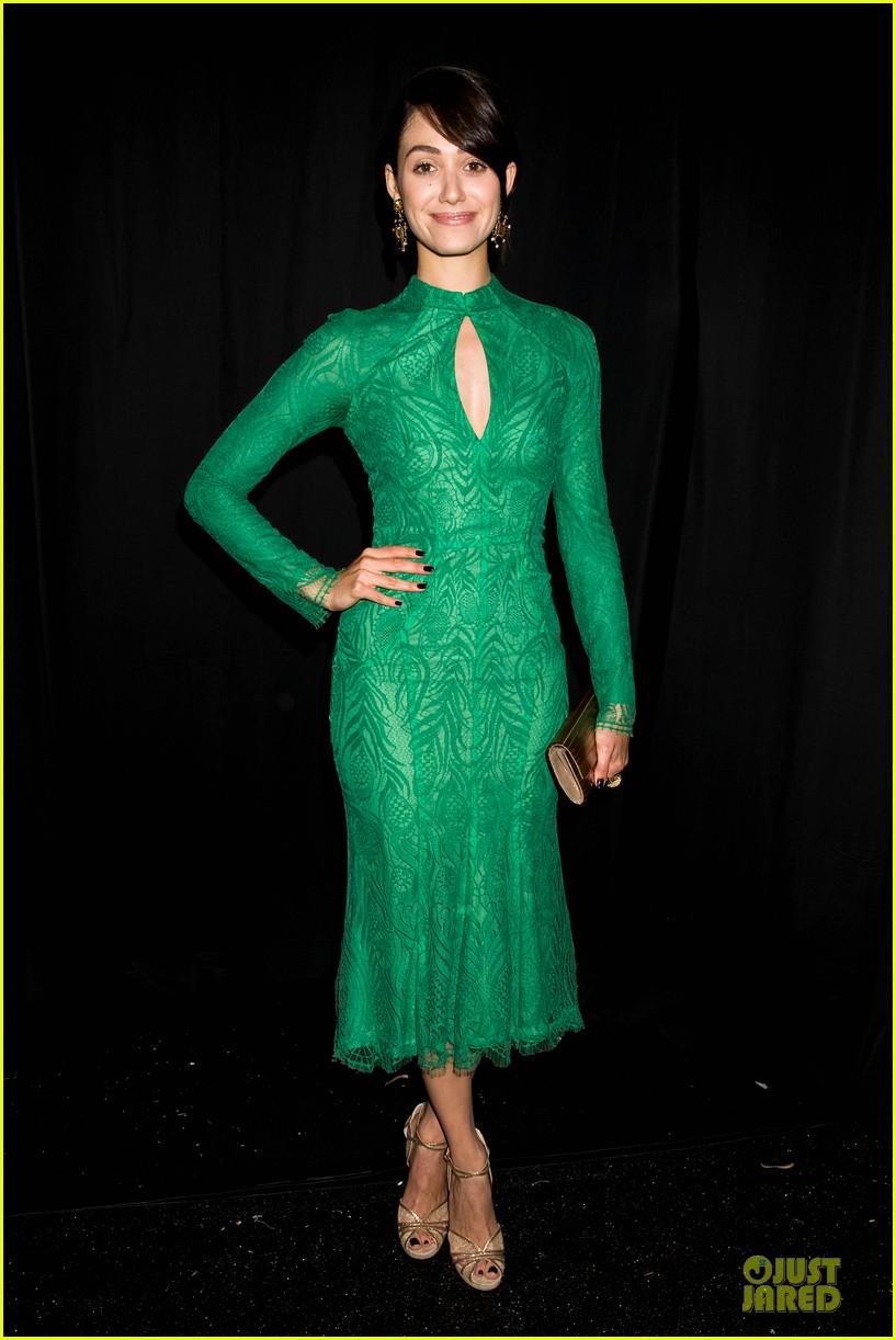 emmy rossum stacy keibler monique lhuillier fashion show 072947634