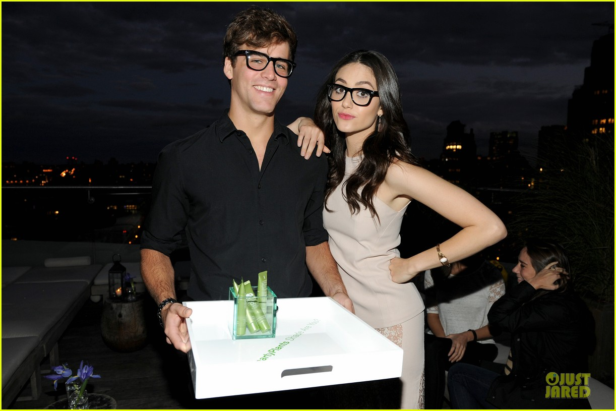 emmy rossum origins smartyplants event host 112953969