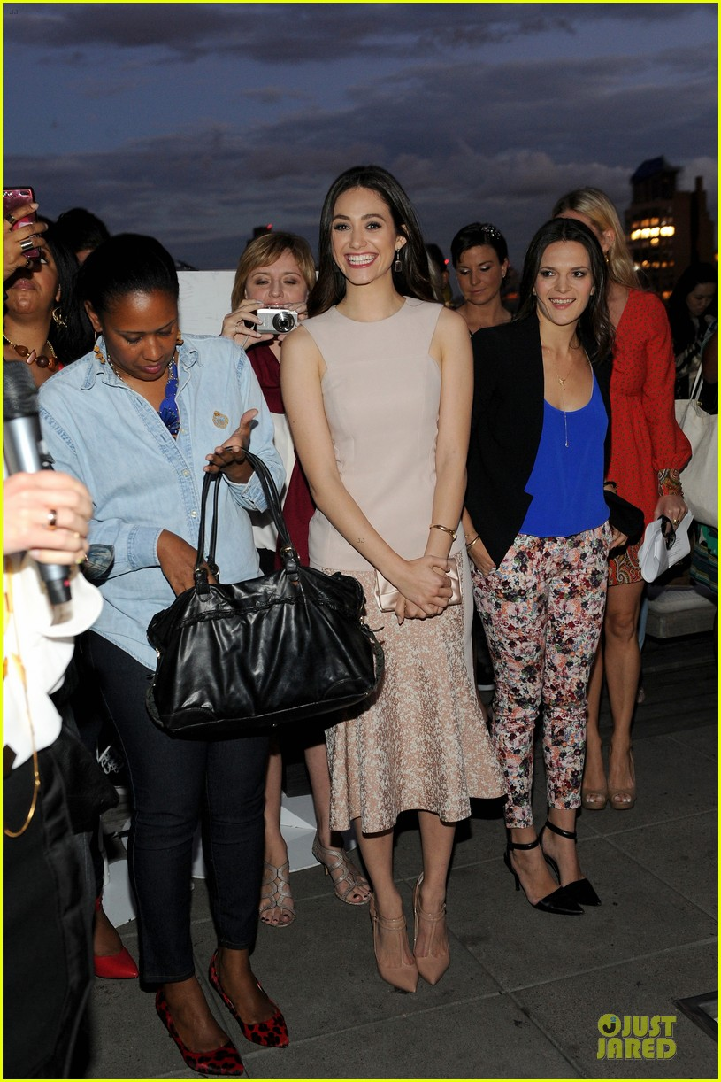 emmy rossum origins smartyplants event host 15
