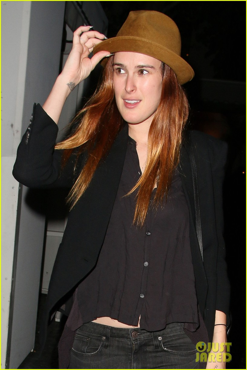 rumer willis chateau marmont after hawaii five 0 filming 03
