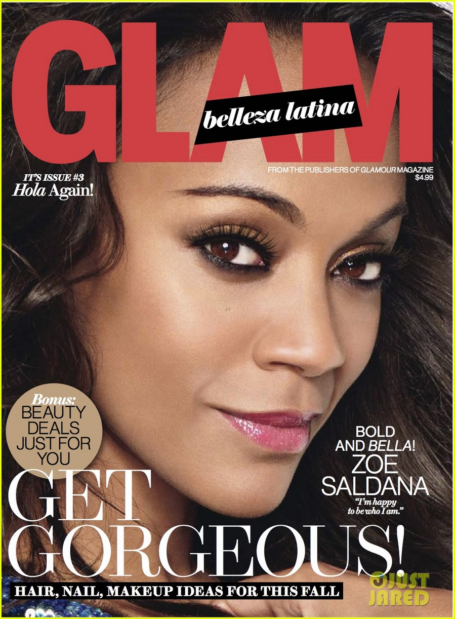 zoe saldana covers glam belleza latina october 2013 032949446