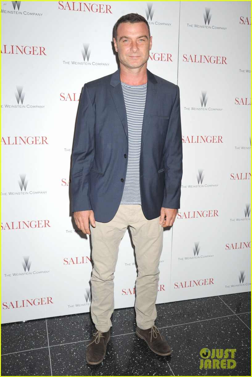 liev schreiber salinger new york screening 022943421