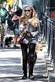 amanda seyfried kisses finn during friday walk 11