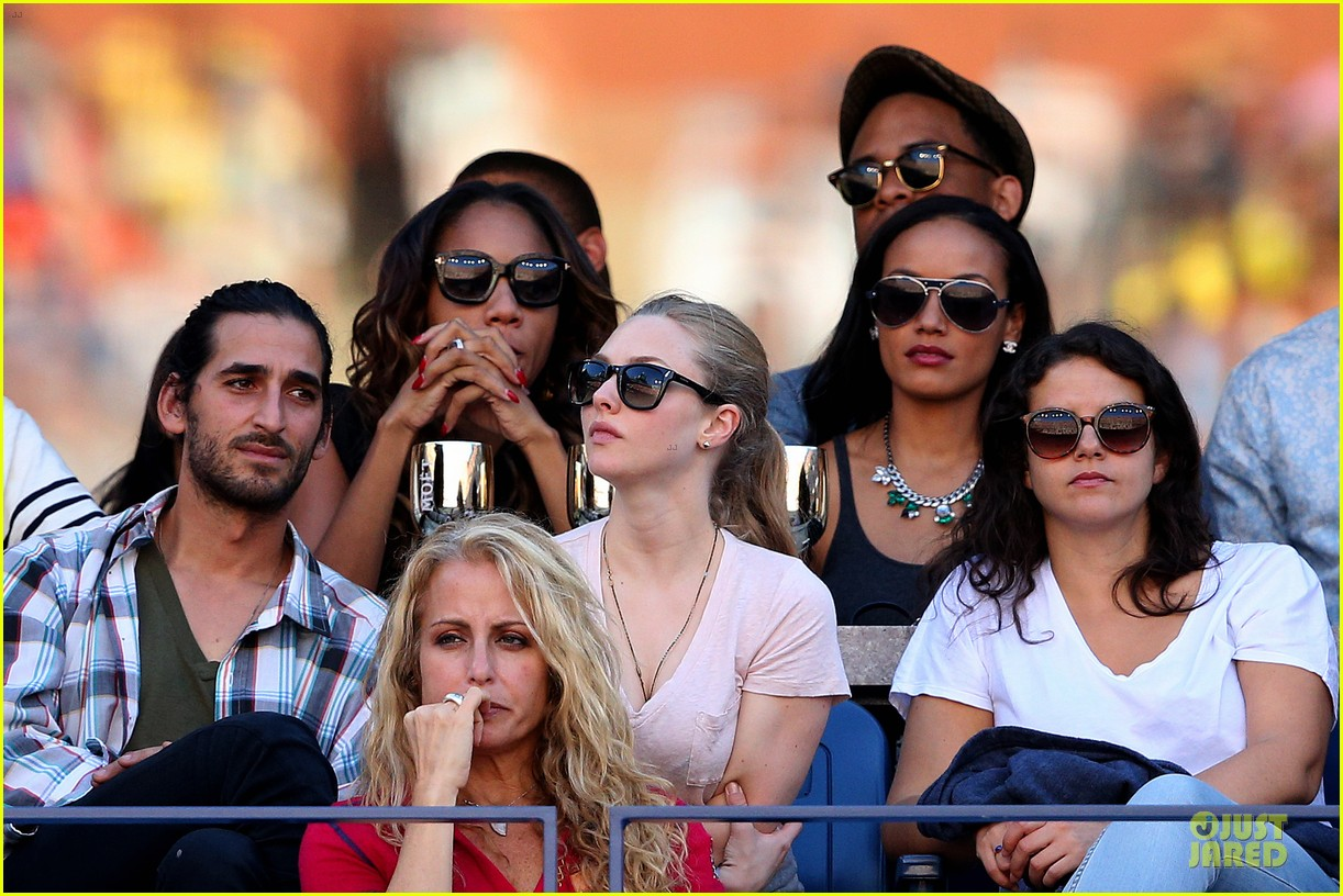 amanda seyfried eva longoria us open womens final 072947482