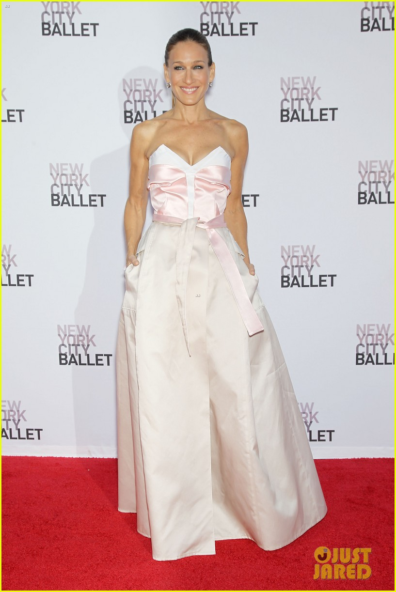 sarah jessica parker drew barrymore nyc ballet gala 012955705