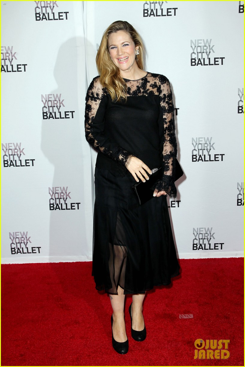 sarah jessica parker drew barrymore nyc ballet gala 242955728