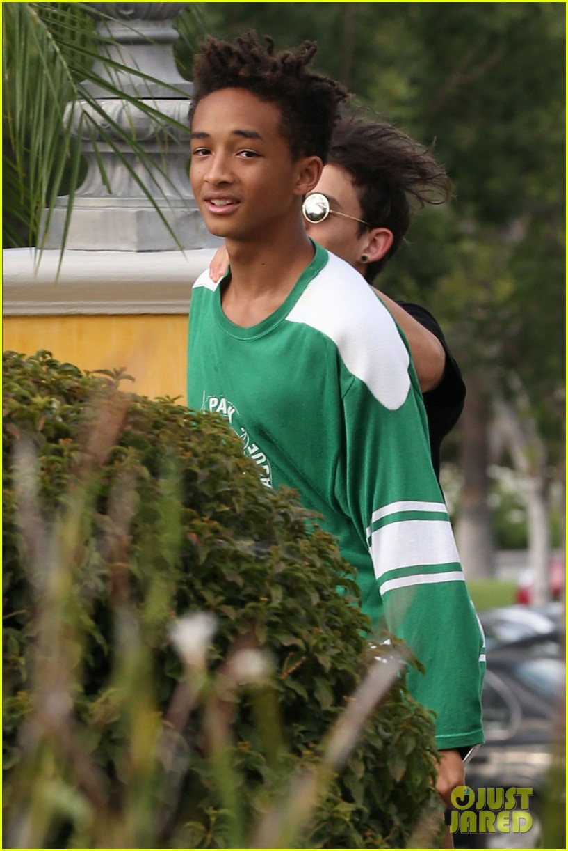 jaden smith moises arias run for sushi 162942821
