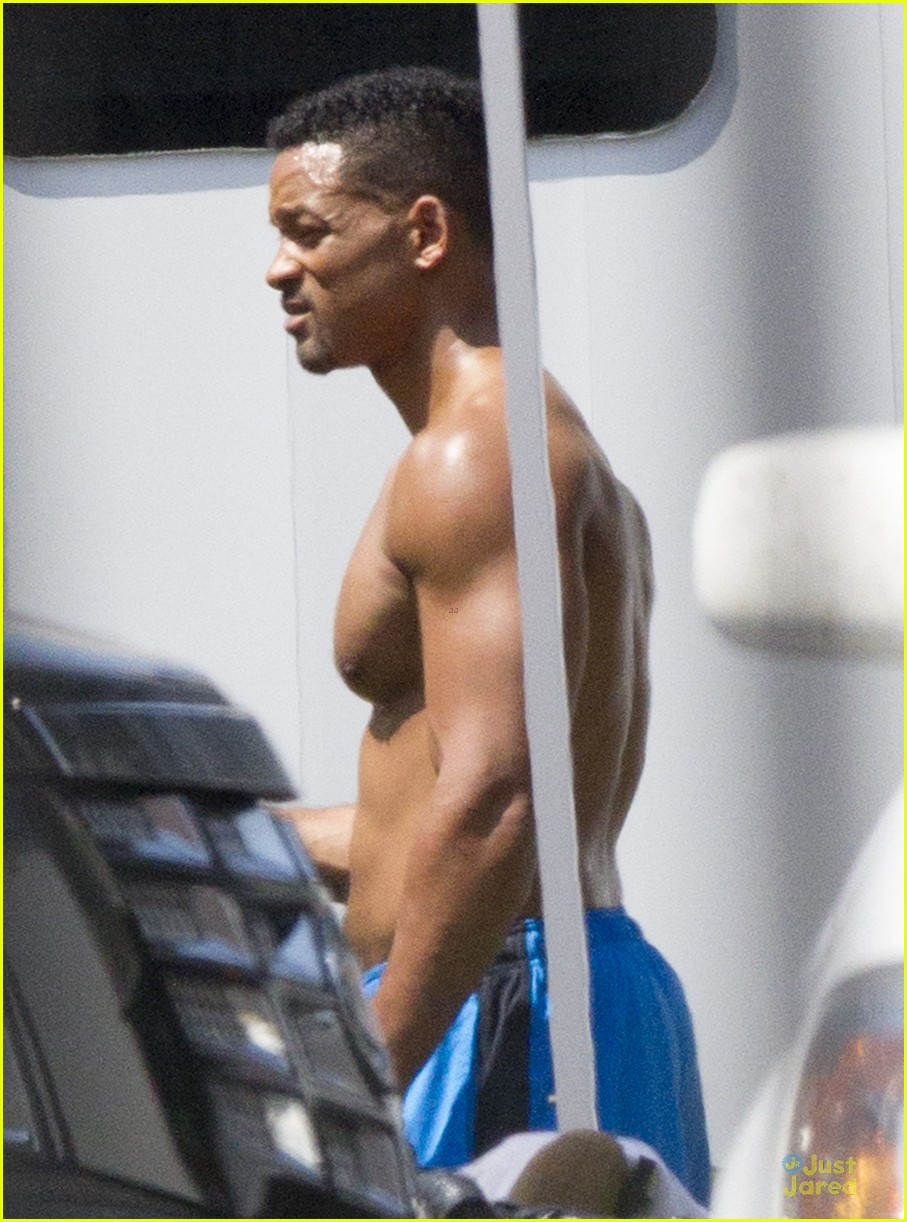 will smith shirtless fighting moves for focus 062951719