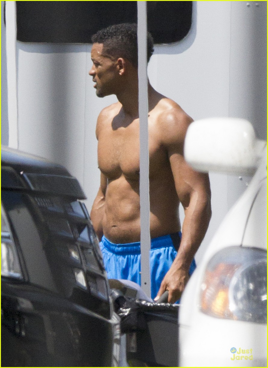 will smith shirtless fighting moves for focus 072951720