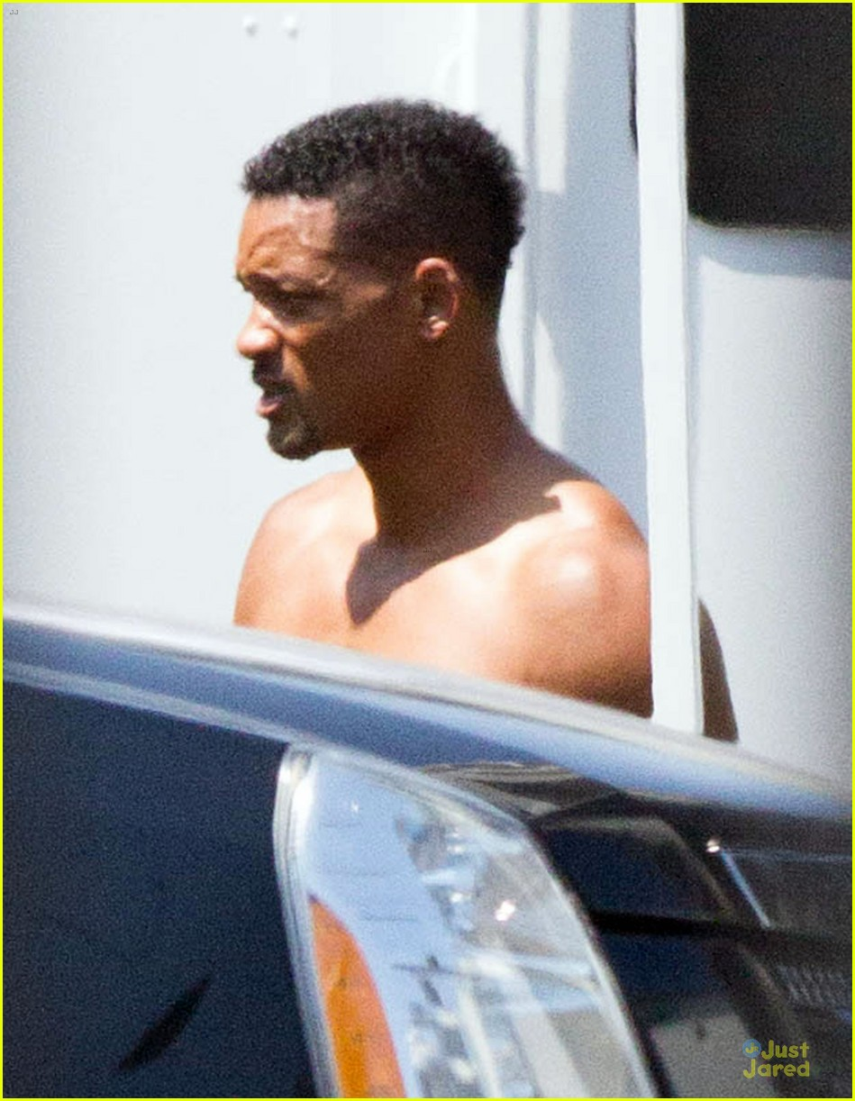 will smith shirtless fighting moves for focus 18