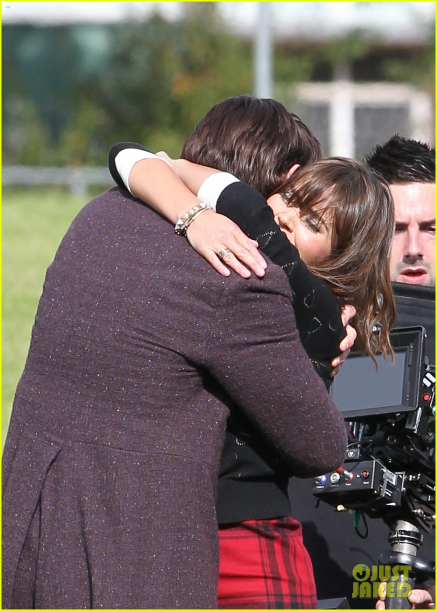 matt smith films doctor who christmas special with jenna coleman 092949173