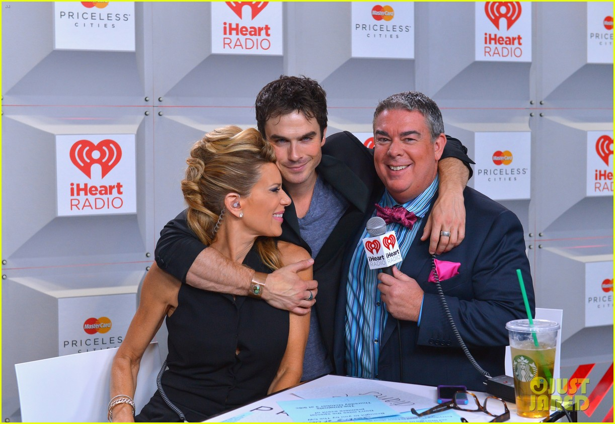 ian somerhalder i heart radio music festival with vampires 112957210