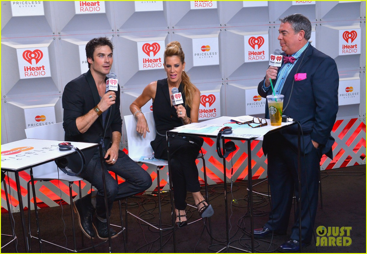 ian somerhalder i heart radio music festival with vampires 122957211