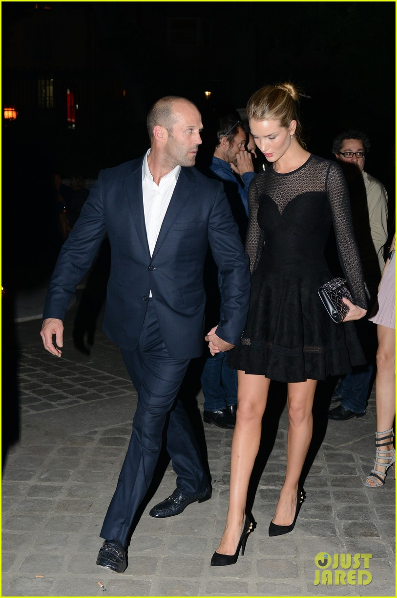 jason statham rosie huntington whiteley azzedine alaia paris fashion show 102959951