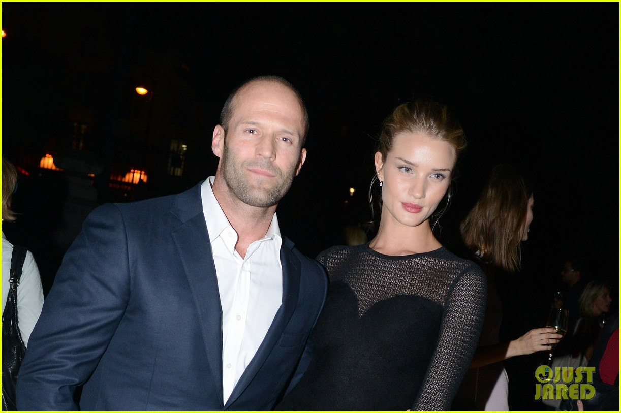 jason statham rosie huntington whiteley azzedine alaia paris fashion show 12