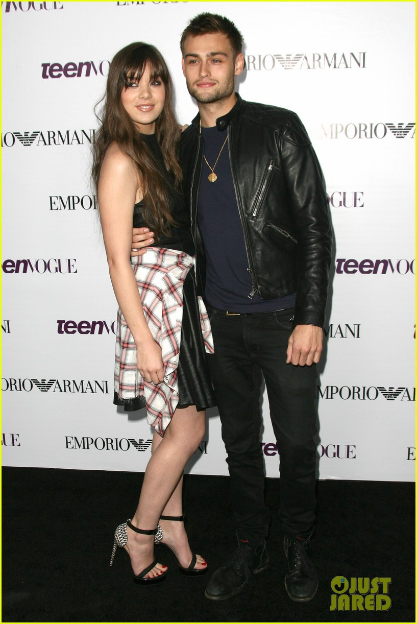 hailee steinfeld douglas booth teen vogue young hollywood party 2013 172961569