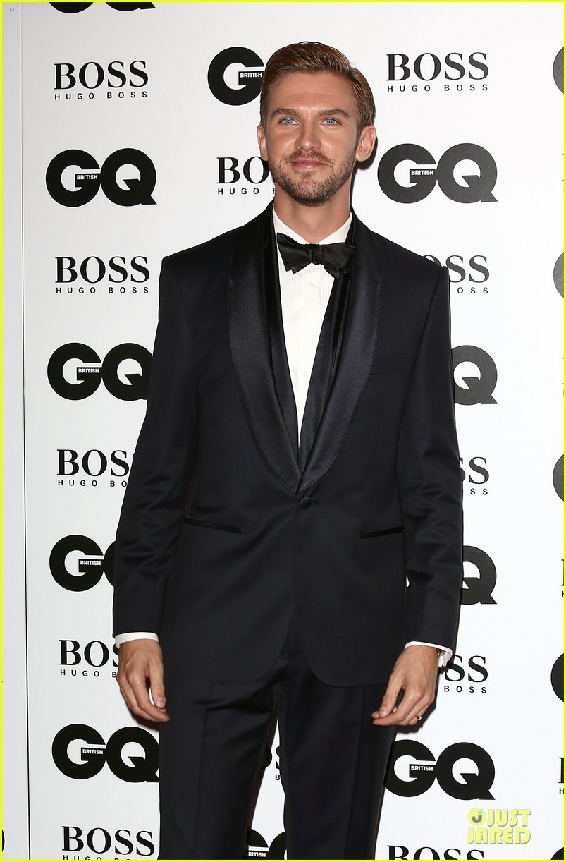 dan stevens laura carmichael gq men of the year awards 2013 02