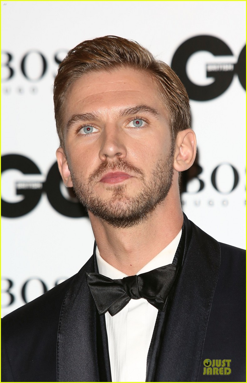 dan stevens laura carmichael gq men of the year awards 2013 042943114