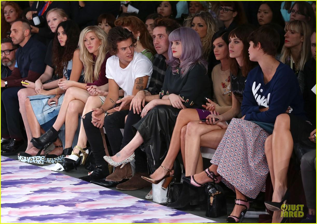 harry styles kelly osbourne house of holland fashion show 112952382