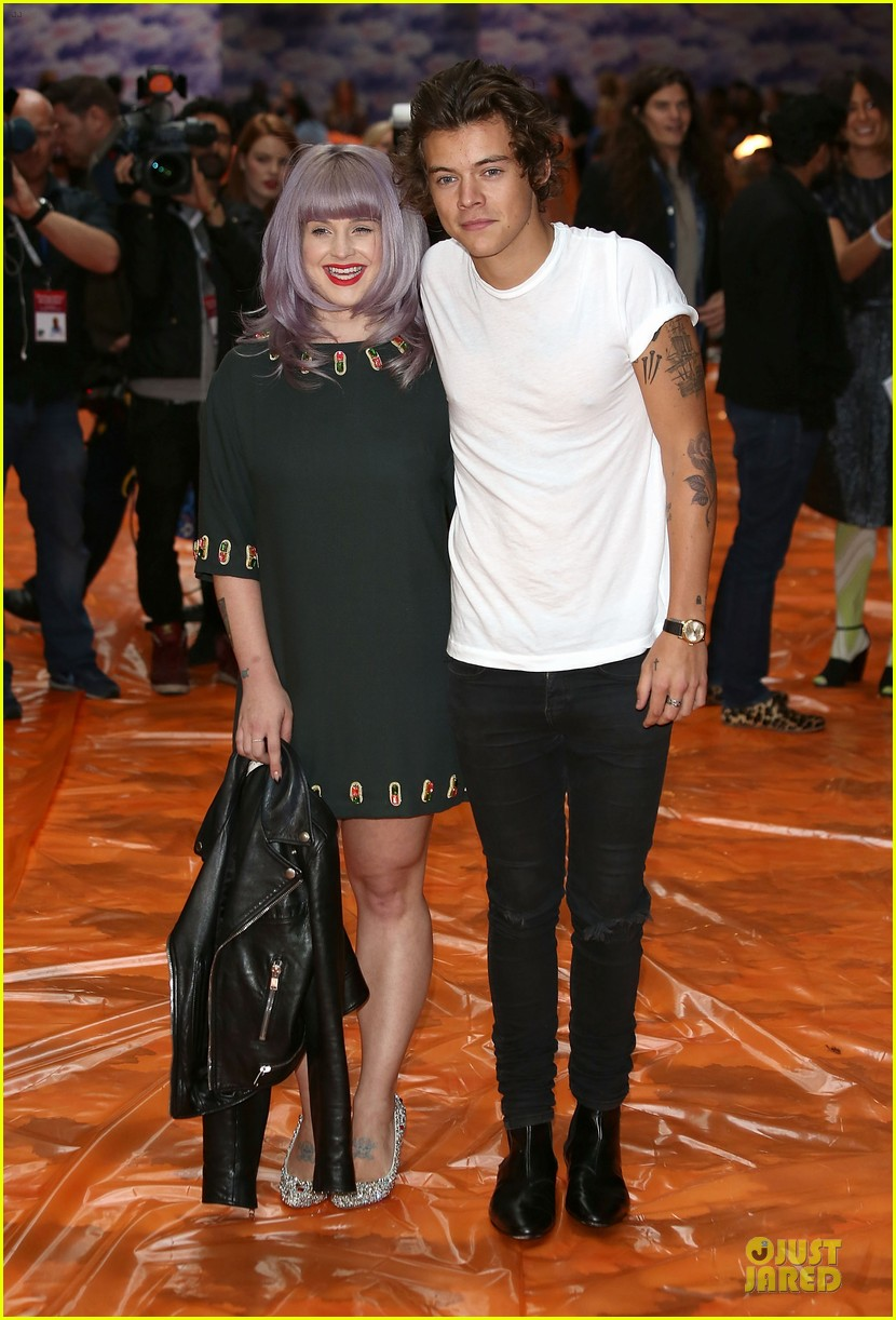 harry styles kelly osbourne house of holland fashion show 122952383