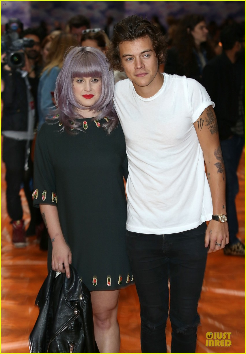 harry styles kelly osbourne house of holland fashion show 162952387