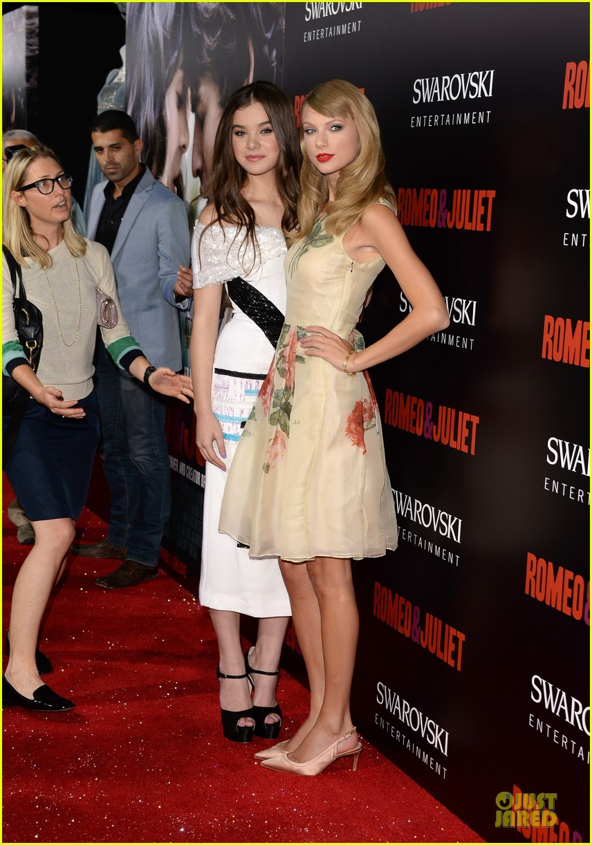 taylor swift supports bff hailee steinfeld at romeo juliet premiere 072959551