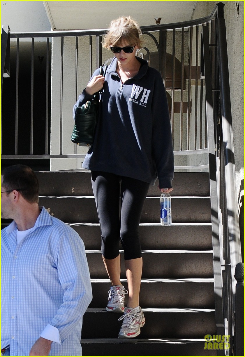 taylor swift steps out for workout after the giver news 092961240