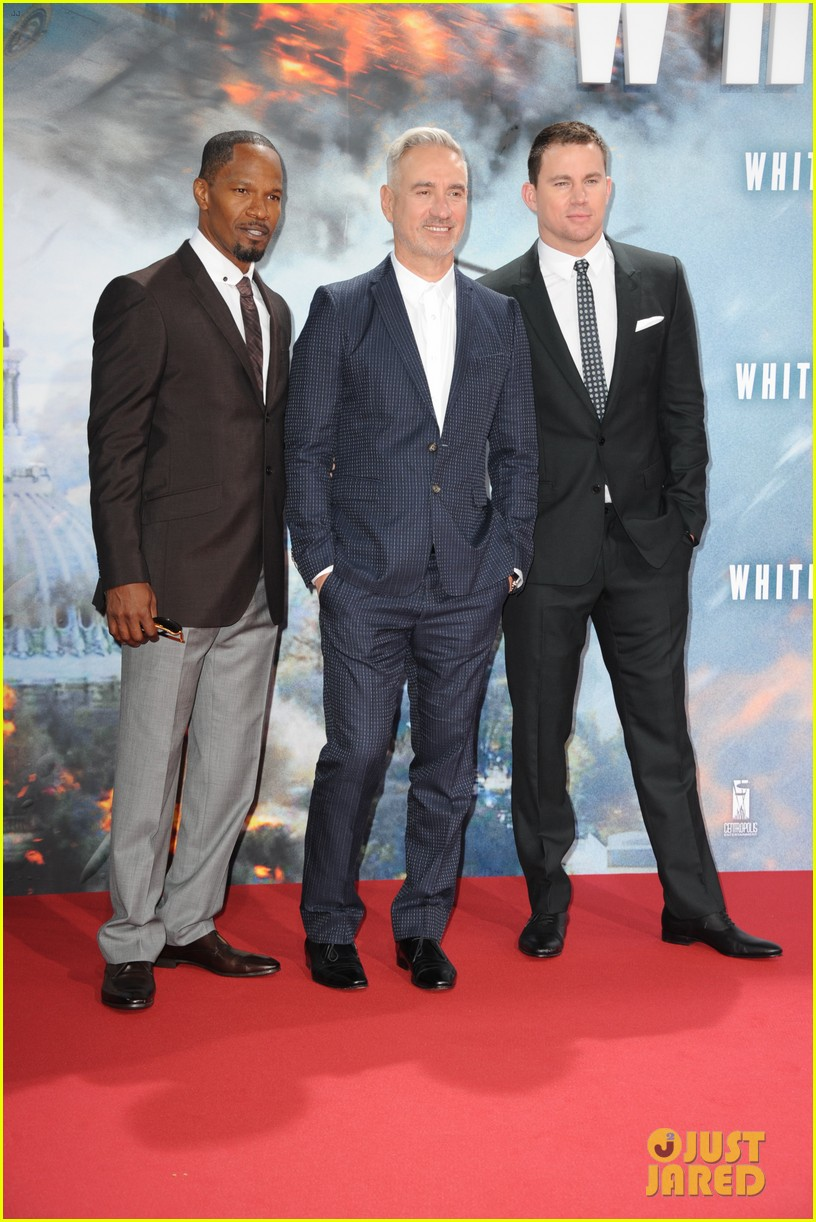 channing tatum jamie foxx white house down in berlin 11