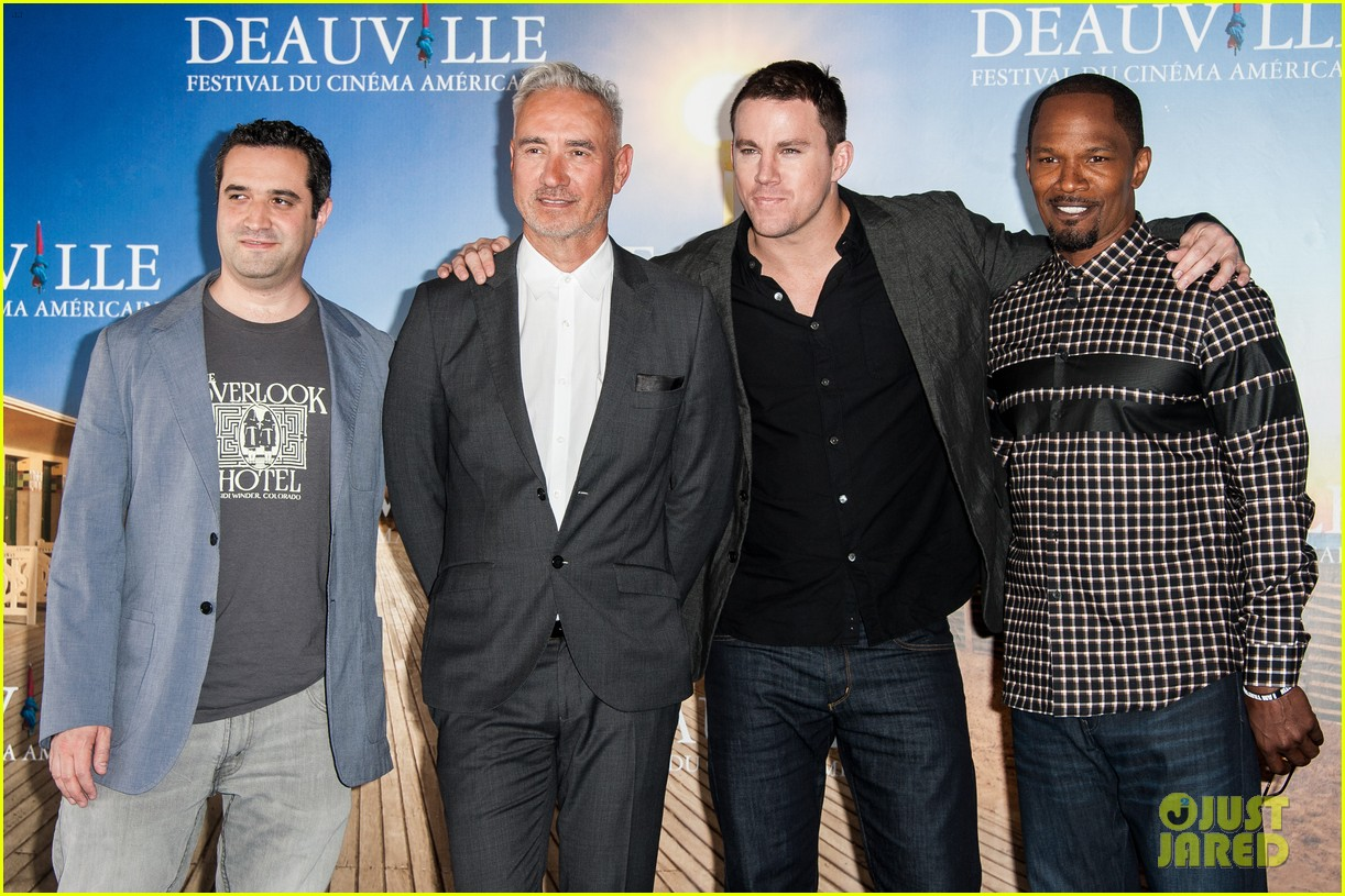channing tatum jamie foxx white house down deauville photo call 082941626