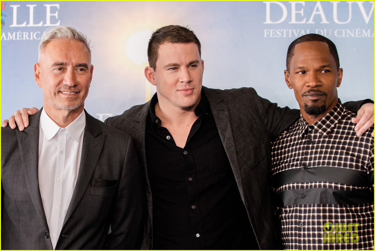 channing tatum jamie foxx white house down deauville photo call 112941629