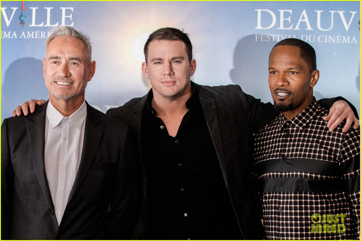 channing tatum jamie foxx white house down deauville photo call 122941630