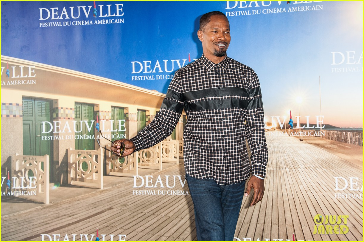 channing tatum jamie foxx white house down deauville photo call 132941631